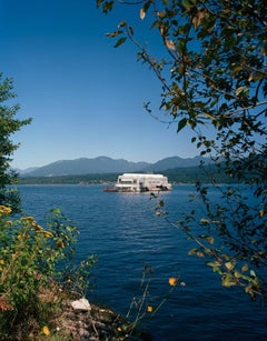 Vancouver 1986 World's Fair, McBarge, View 2 with Yellow Flowers