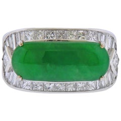 Jade Gold Diamond Ring