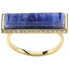 Jade Jagger Never Ending Sapphire Ring 14 Carat Gold