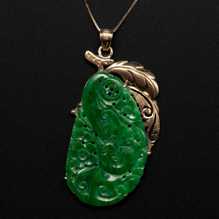 The jade carving you see here is no ordinary jade carving. It is a variety of jade known as kosmochlor jade. What, you ask, is kosmochlor jade? Well, it is also known as chromium jadeite. And chromium is the chemical element that gives jadeite its