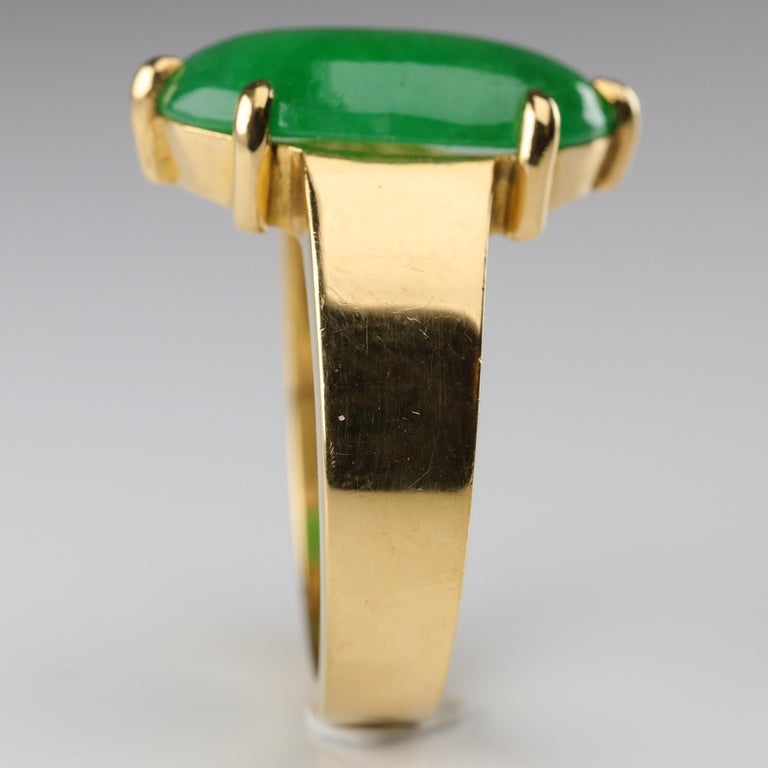 Jade Ring as Featured in the New York Times and Town & Country Magazine For Sale 6
