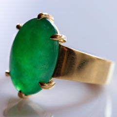 Jade Ring as Featured in the New York Times and Town & Country Magazine