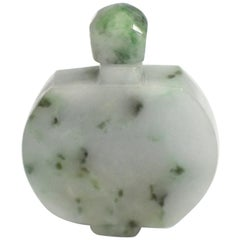 Jadeite Jade Snuff Bottle All Natural