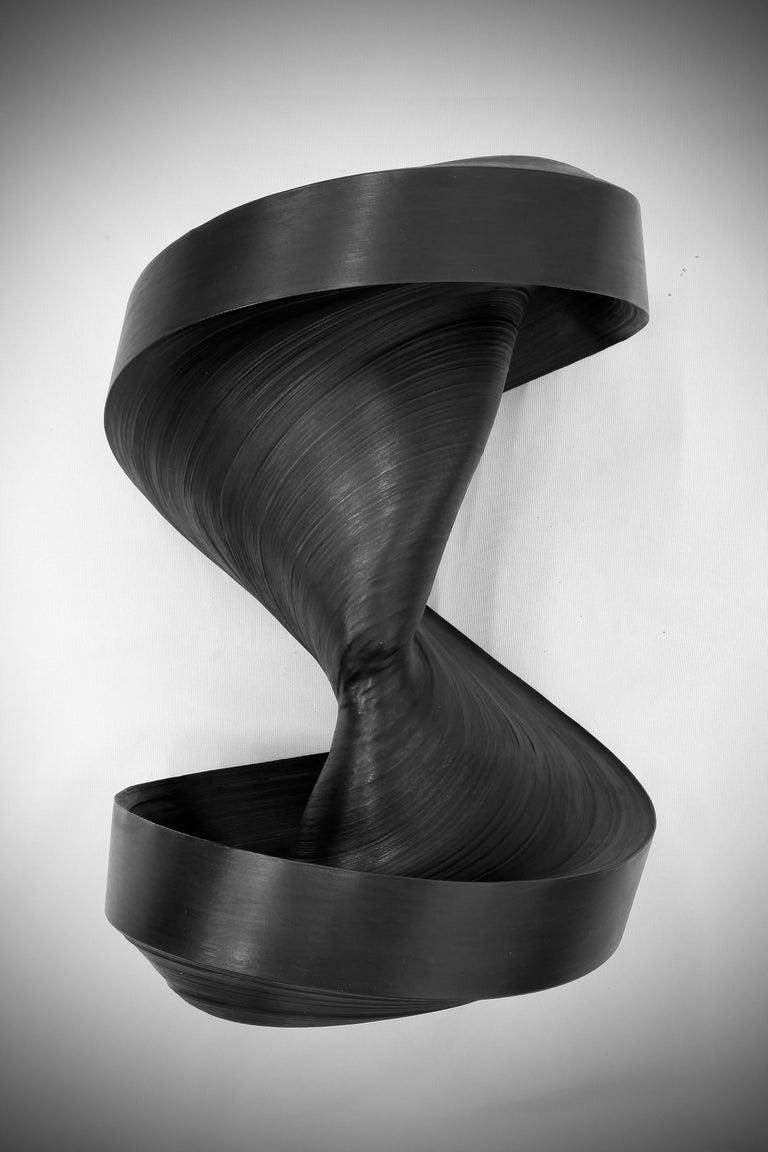Jae Ko Abstract Sculpture - JK 783 Black