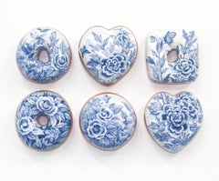 Blue and White Donuts (6)