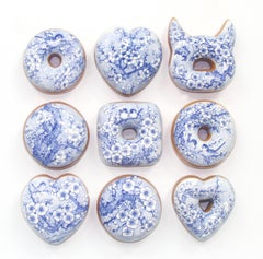Blue and White Donuts (9)