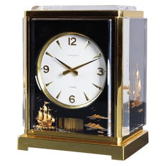 Jaeger Le Coultre, Atmos Clock Cal. 526, Marina, Plexiglass Black from 1968