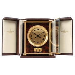 Jaeger Le Coultre, Atmos V, Calibre 526, Elysee in Original Box, Swiss, 1970s
