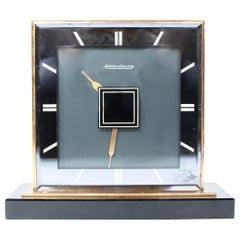 Jaeger Le Coultre Art Deco Double Sided Desk Clock