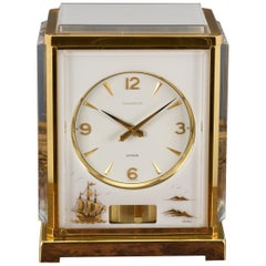 Jaeger Le Coultre Marina Atmos Clock