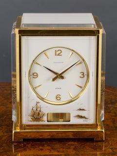 Jaeger Le Coultre Marina Atmos Clock