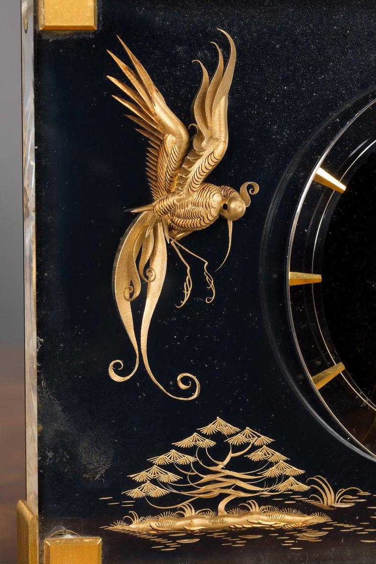 Modern Jaeger-LeCoultre Mystery Mantel Clock For Sale