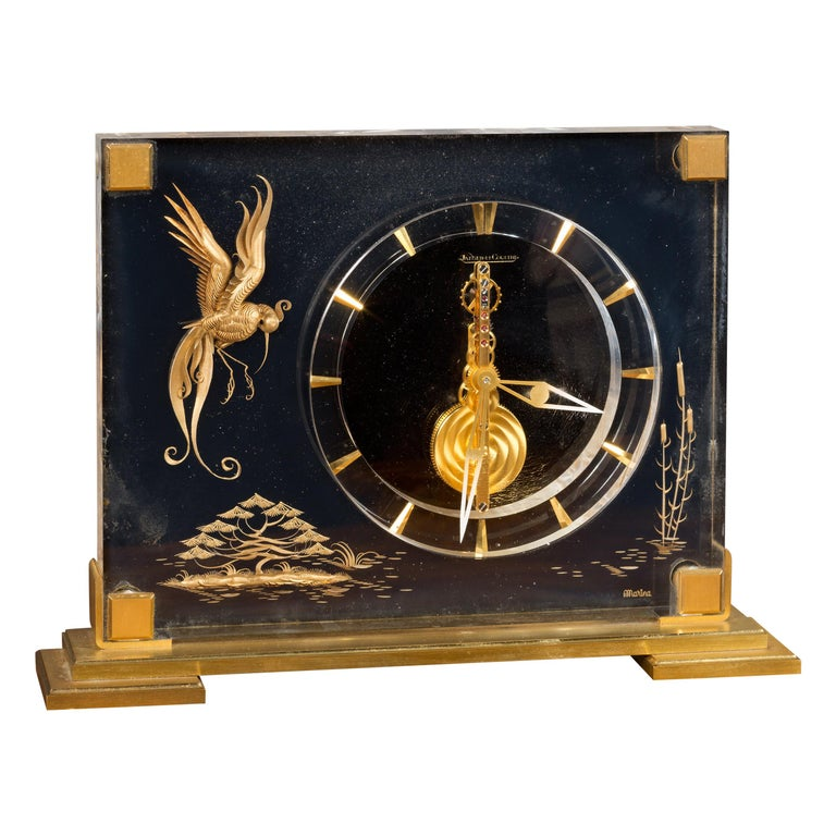 Jaeger-LeCoultre Mystery Mantel Clock For Sale