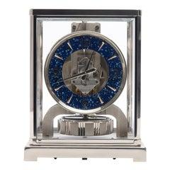 Jaeger LeCoultre Rhodium-Plated Royale Atmos Clock, circa 1974