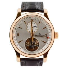 Jaeger Le Coultre Rose Gold Master Tourbillion