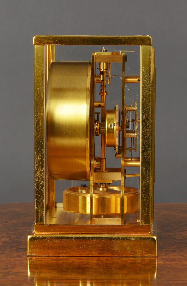 Other Jaeger Le Coultre Tuxedo Atmos Clock For Sale