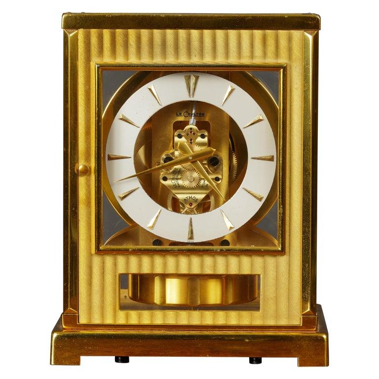 Jaeger Le Coultre Tuxedo Atmos Clock For Sale