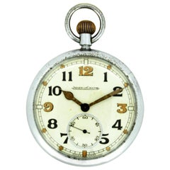 Jaeger Le Coultre World War II Military British Navigators Pocket Watch