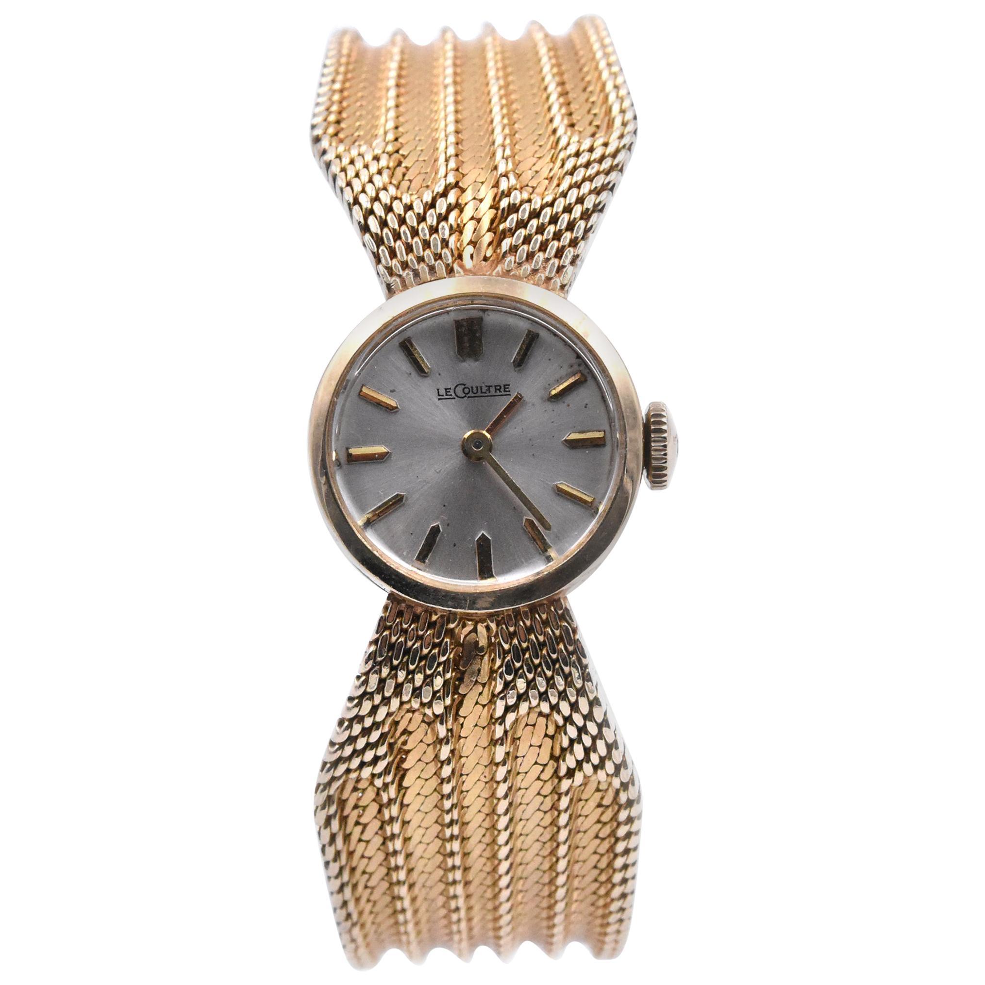 Jaeger-LeCoultre 14 Karat Yellow Gold Ladies Dress Watch