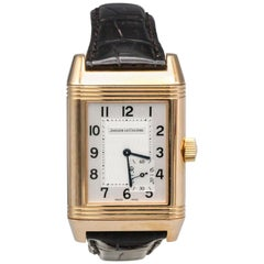 Jaeger Lecoultre 18K Gold Grande Power Reserve Reverso Wristwatch with Seconds
