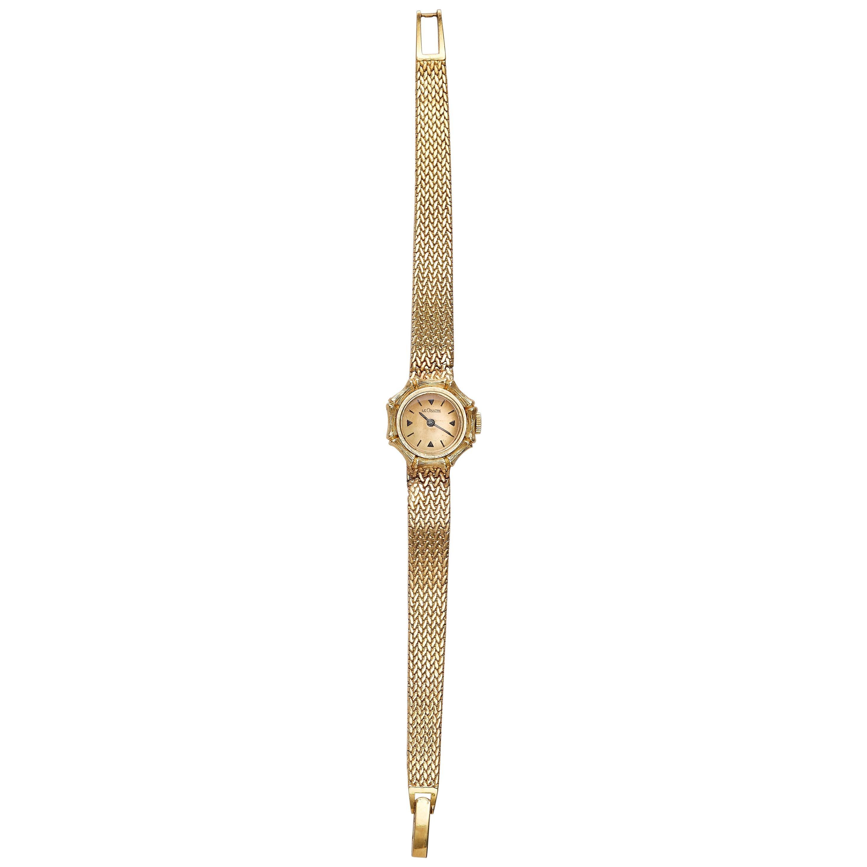 Jaeger-LeCoultre 18k Yellow Gold Lady Wrist Watch
