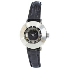 Jaeger-LeCoultre Art Deco Ladies Watch in 14 Karat White Gold, circa 1940s-1950s