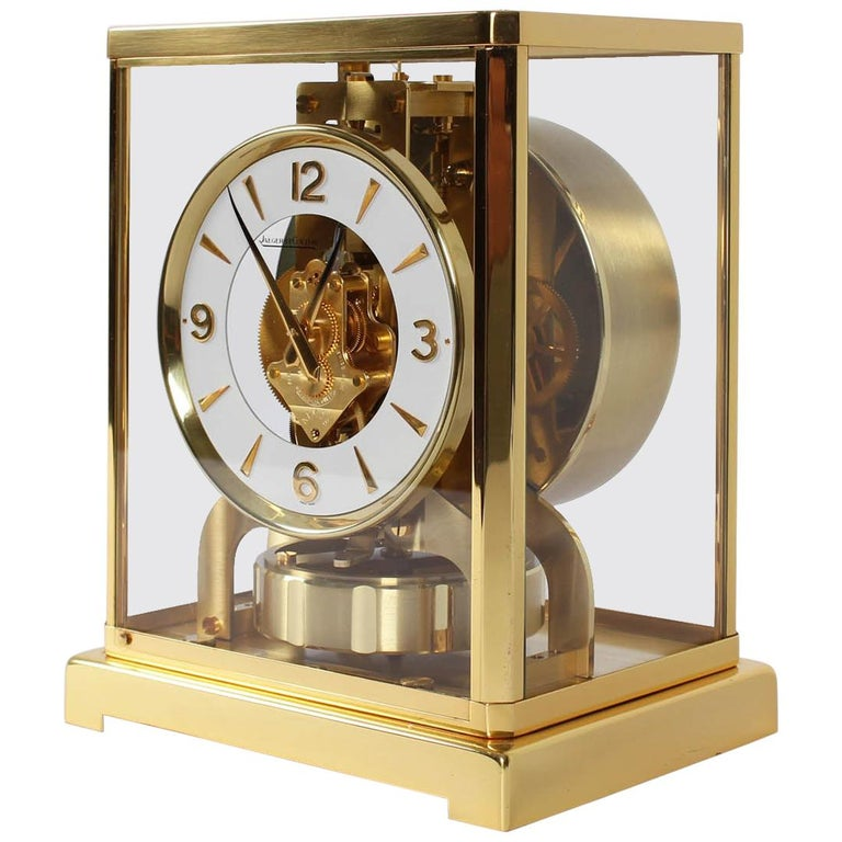 Jaeger-LeCoultre Atmos Clock, Cal. 526 Classic, Midcentury, 1966 For Sale