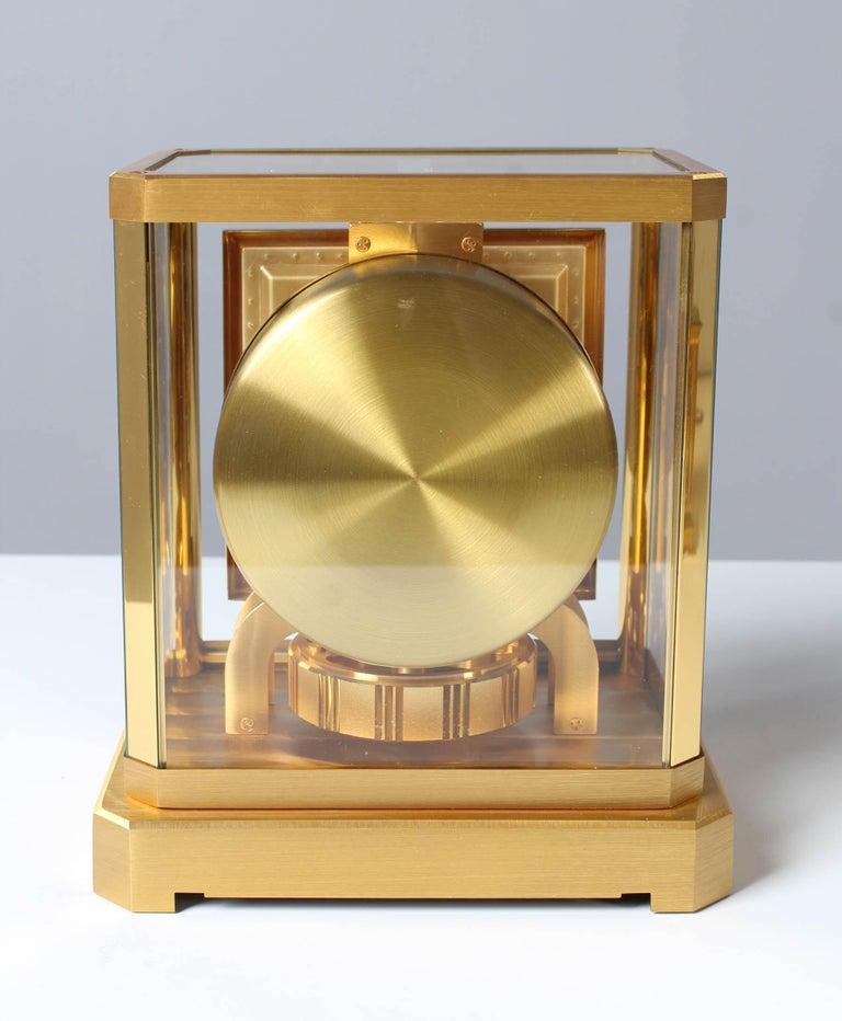 Jaeger LeCoultre Atmos Clock, Lapislazuli Blue Dial, Kal. 528, Year 1979 For Sale 2