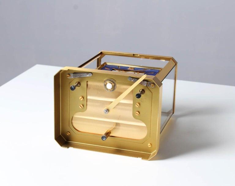 Jaeger LeCoultre Atmos Clock, Lapislazuli Blue Dial, Kal. 528, Year 1979 For Sale 3