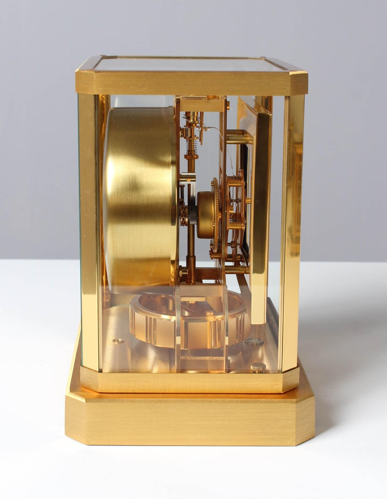 Jaeger LeCoultre Atmos Clock, Lapislazuli Blue Dial, Kal. 528, Year 1979 For Sale 1