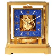 Jaeger LeCoultre Atmos Clock, Lapislazuli Blue Dial, Kal. 528, Year 1979