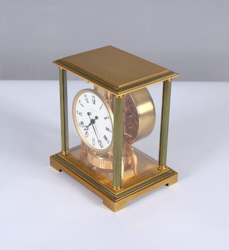 Jaeger-LeCoultre Atmos Clock, Vendome, circa 1979 For Sale 2