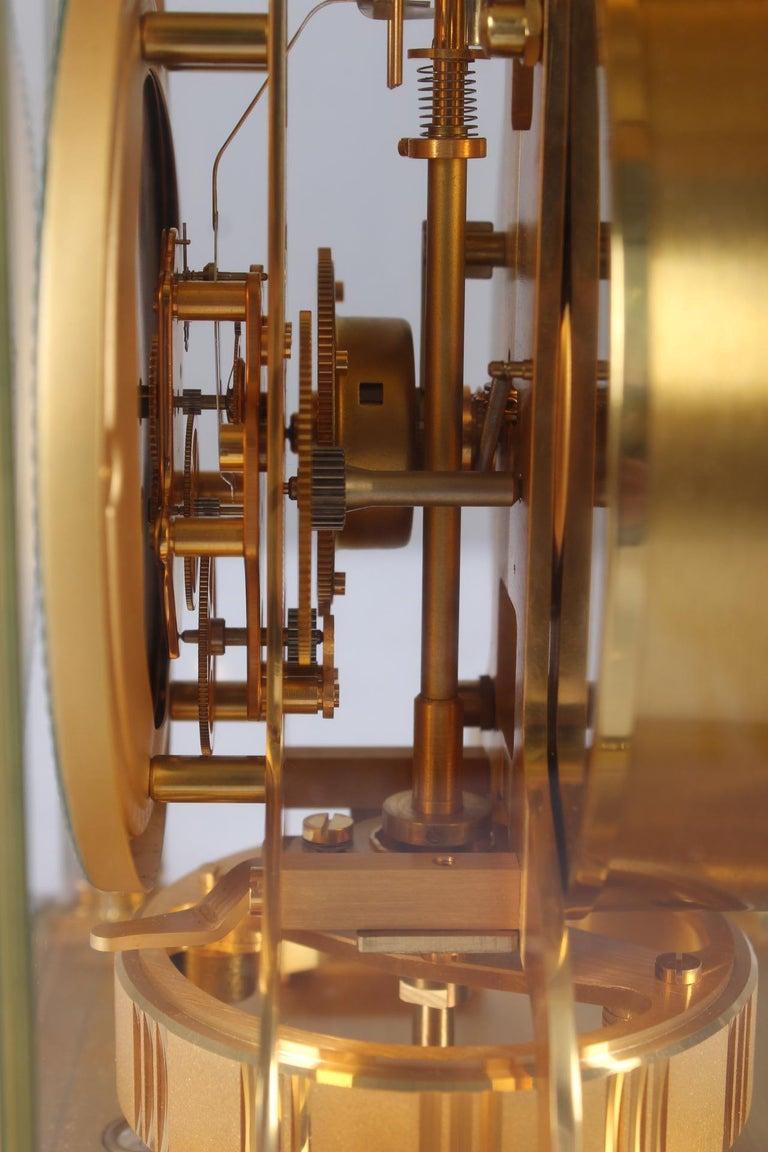 Jaeger-LeCoultre Atmos Clock, Vendome, circa 1979 For Sale 4