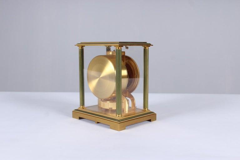 Jaeger-LeCoultre Atmos Clock, Vendome, circa 1979 In Good Condition For Sale In Greven, DE