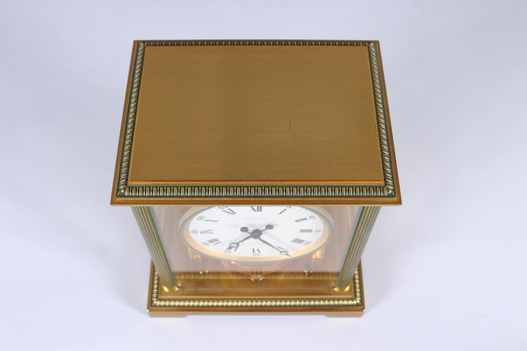 Late 20th Century Jaeger-LeCoultre Atmos Clock, Vendome, circa 1979 For Sale