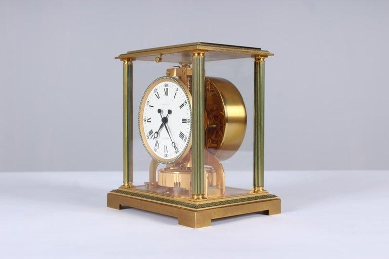 Jaeger-LeCoultre Atmos Clock, Vendome, circa 1979 For Sale 1