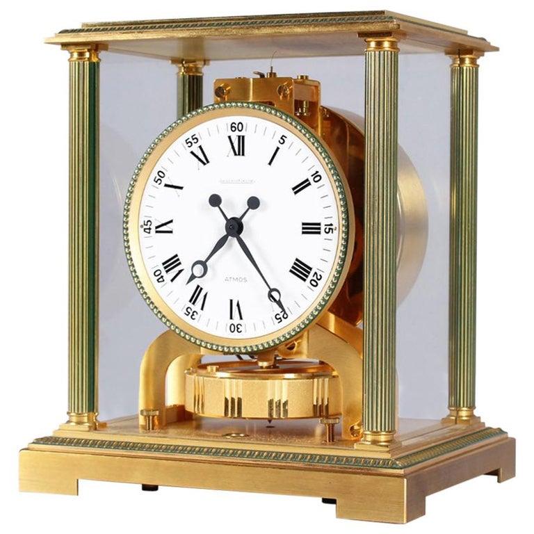 Jaeger-LeCoultre Atmos Clock, Vendome, circa 1979 For Sale