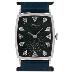 Jaeger-LeCoultre Classic 7560, Black Dial, Certified and Warranty