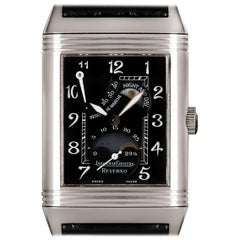Jaeger LeCoultre Day & Night Reverso White Gold 270.3.63 Manual Wind Wristwatch