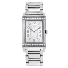 Jaeger LeCoultre Grand Reverso Ultra Thin Steel Manual Wind Lady Watch Q3208121