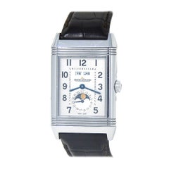 Jaeger-LeCoultre Grande Reverso Q3758420, Silver Dial, Certified