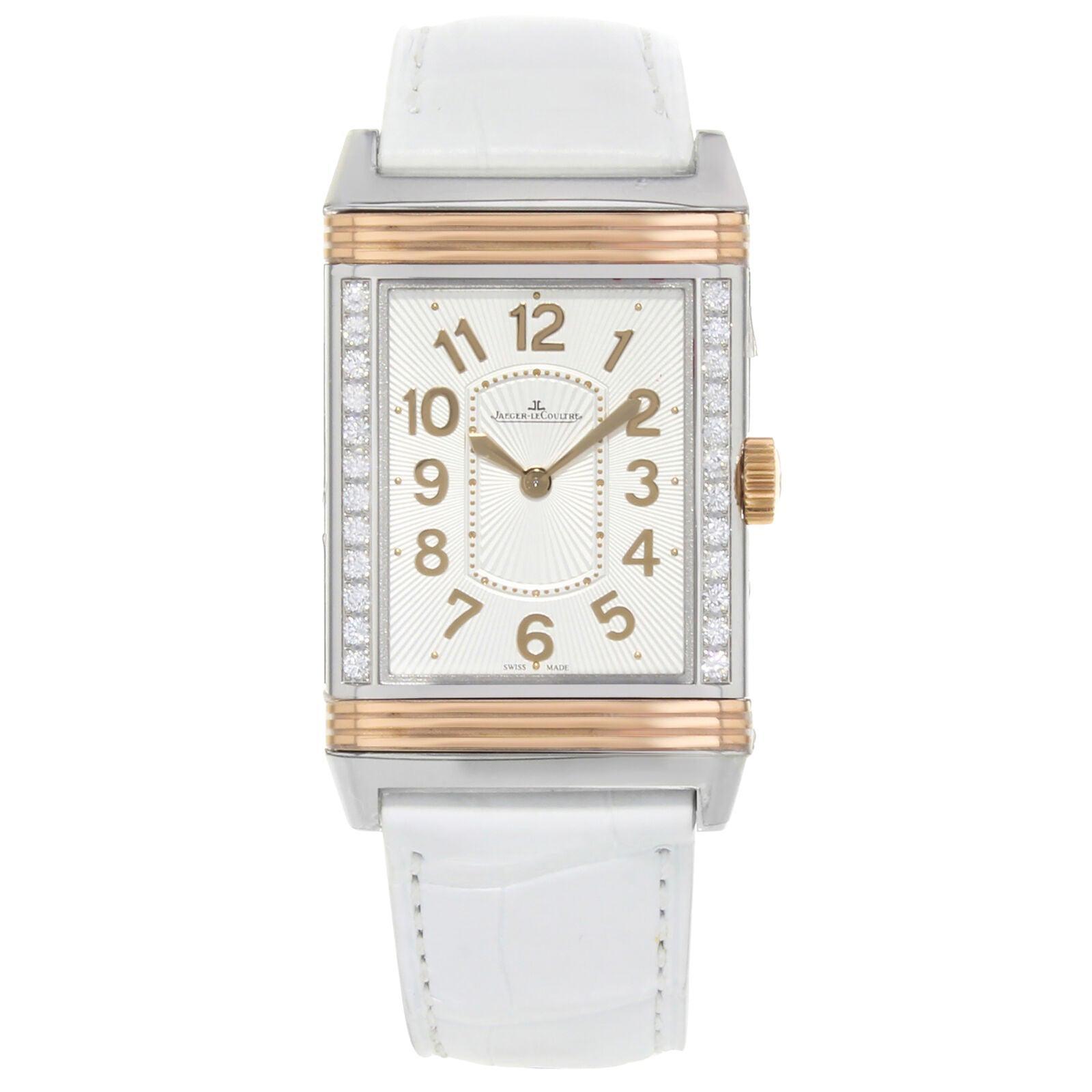 Jaeger-Lecoultre Grande Reverso Ultra-Thin Gold Diamonds Ladies Watch Q3224420