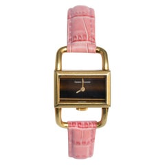Jaeger LeCoultre Hermes Tigers Eye Dial Watch