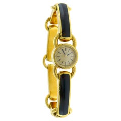 Jaeger-leCoultre Ladies Gold Bracelet Wristwatch 1950s Manual Wind