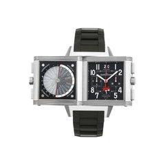 Jaeger-LeCoultre Limited 231T50 Reverso Squadra World Time Chronograph Titanium
