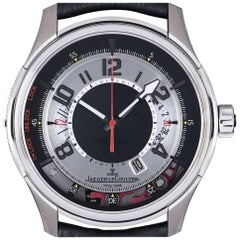 Jaeger LeCoultre Limited Edition Aston Martin Amvox Titanium Black & Silver Dial