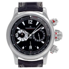 Jaeger LeCoultre Master Compressor 148.8.25, Case, Certified and Warranty