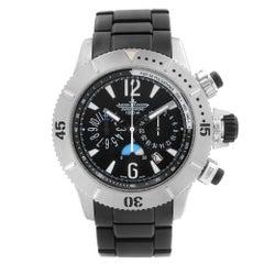 Jaeger LeCoultre Master Compressor 44mm Titanium Black Dial Men's Watch 160.T.25