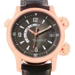 Jaeger Lecoultre Master Compressor Memovox Rose Gold Watch 146.2.97