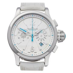 Jaeger LeCoultre Master Compressor Stainless Steel 148831 Wristwatch